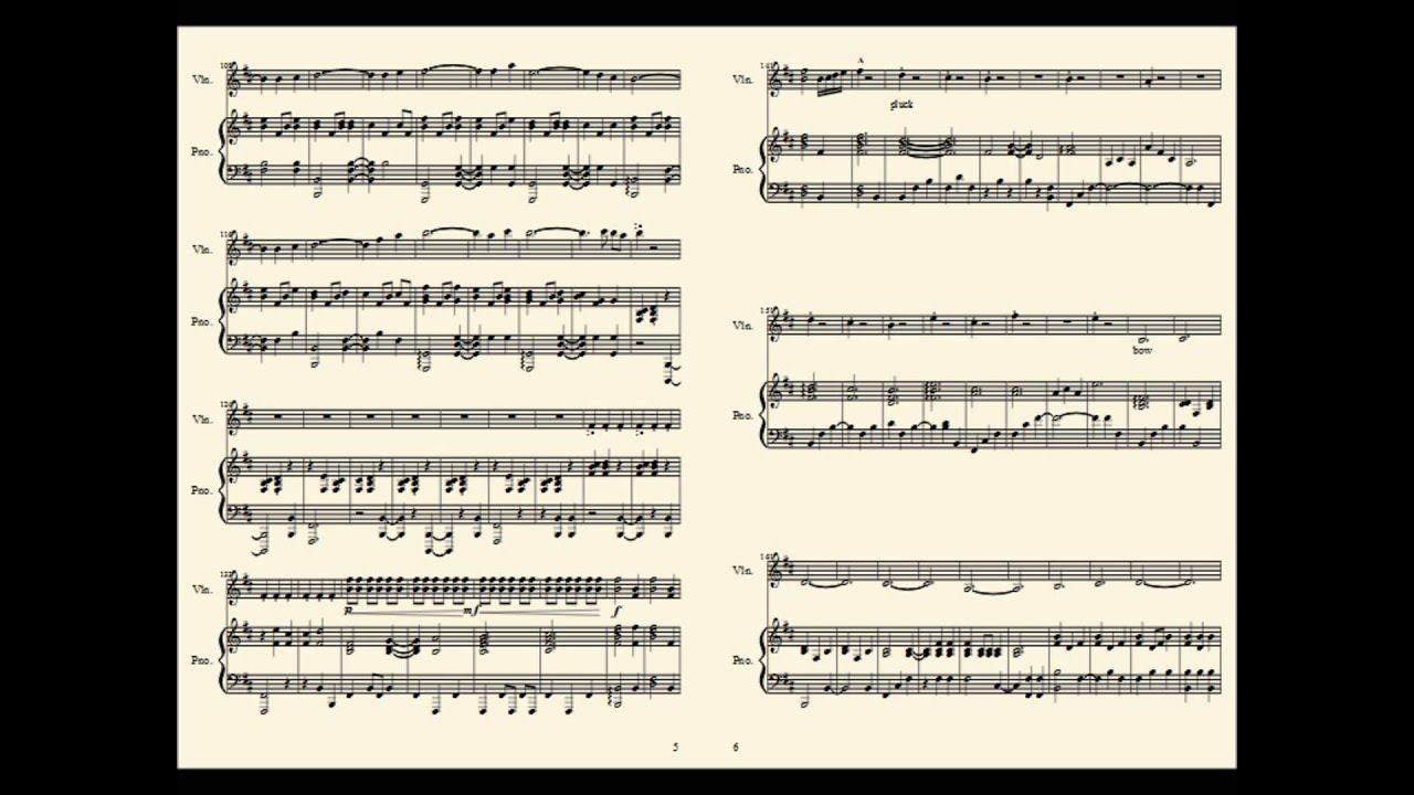 skyrim theme violin sheet music