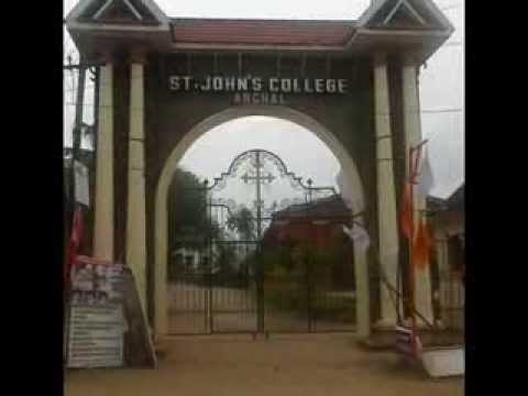 Prayer song-  ST.JOHNS COLLEGE ANCHAL, KOLLAM,KERALA