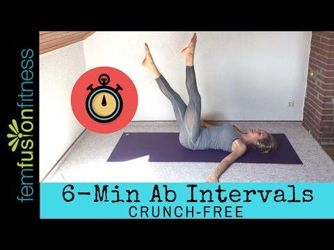 6-Min Abtastic Workout (Core + Pelvic Floor Friendly!)