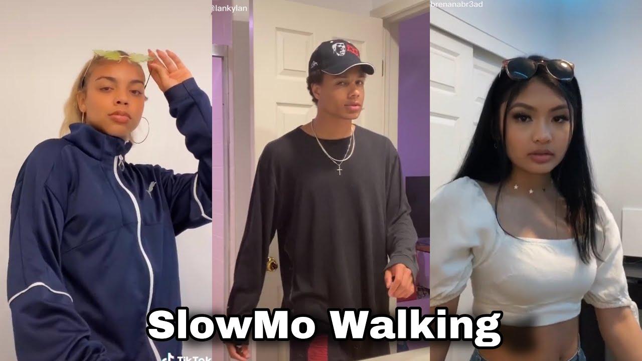 SlowMo Walking Tiktok Trends Funny Tiktok Memes