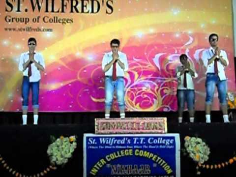 S. T. Wilfred college Ajay Yogi Raj group dance
