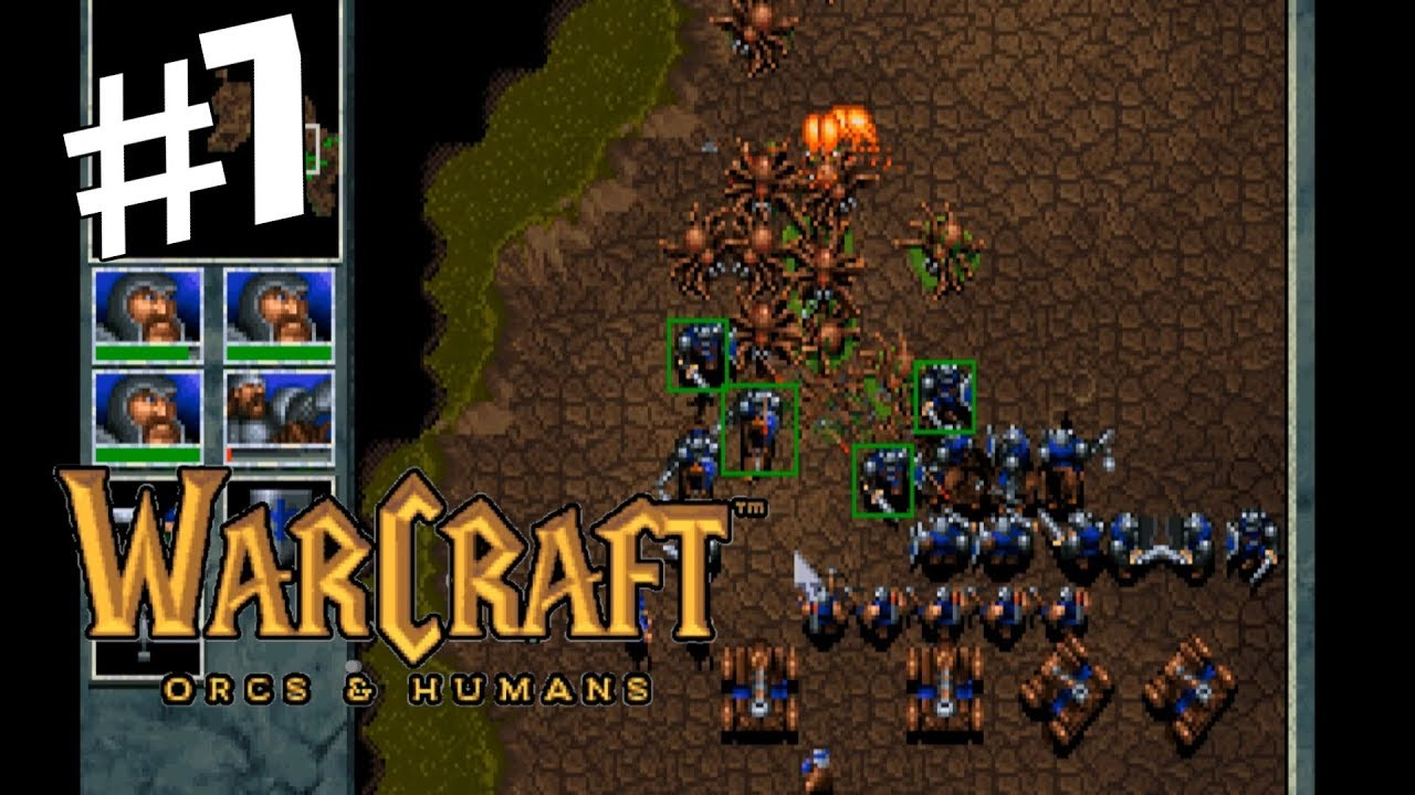 Temple Of The Damned Mission 10 Warcraft Orcs Humans Gameplay