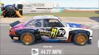 Forza Horizon 3 GoPro DONT BRAKE Challenge #4!!- WAY TO CLOSE!!