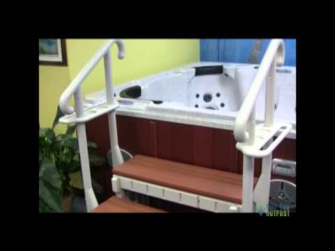 Hot Tub Steps Sale - Durable Plastic Safety Step
