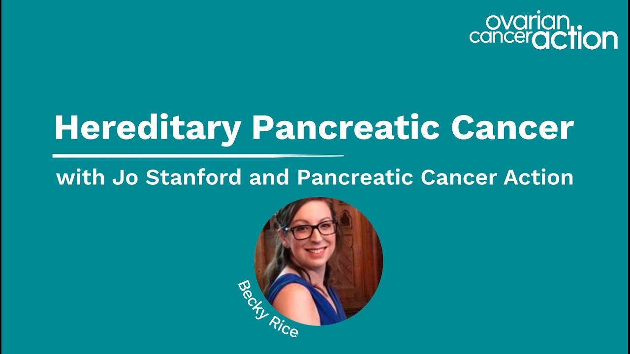 Hereditary Pancreatic Cancer Webinar Youtube