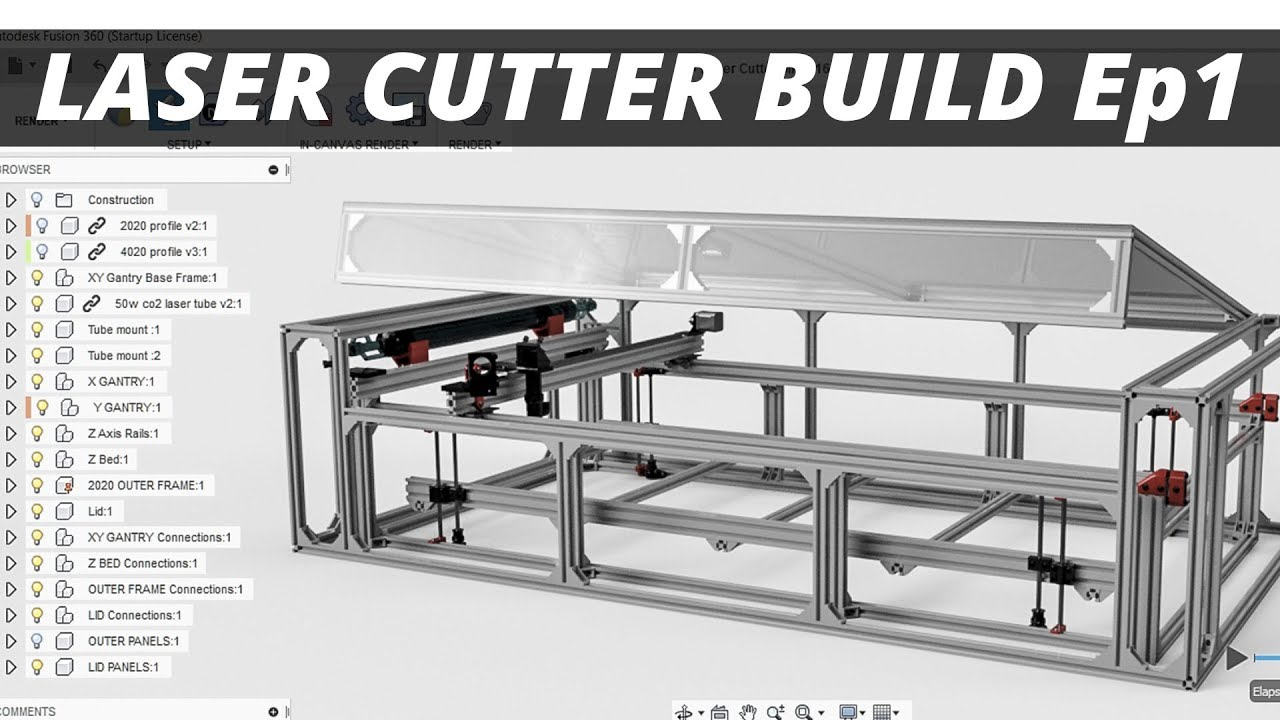 The Laser Cutter Build Series — Further Fabrication