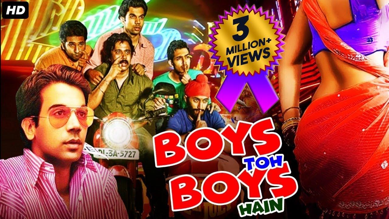 Download Rajkummar Rao's BOYS TOH BOYS HAIN - Bollywood Comedy Full Movies   Anshuman Jha, Divya Dutta