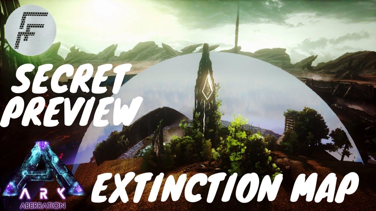 ARK Extinction - HOW TO EXPLORE THE SECRET ARK EXTINCTION DLC EARLY