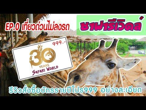 EP.3🦒ซื้อบัตรซาฟารีเวิลด์ safari 365 ครั้งเดียวเที่ยวทั้งปีแบบละเอียด ได้บัตรเที่ยวทันทีแบบไม่ลงรถ🚘