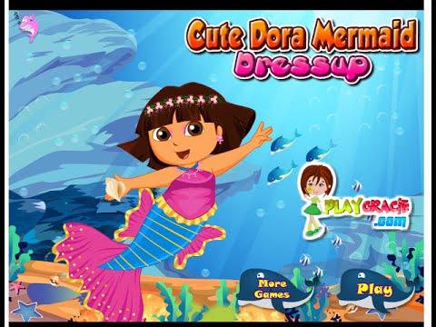free kids games for girls dora