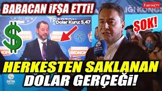 Herkesten saklanan dolar gerçeği Ali Babacan ifşa etti (Sonuna kadar izleyin)