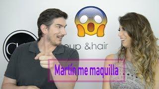 Martín Catalogne me maquilla!!