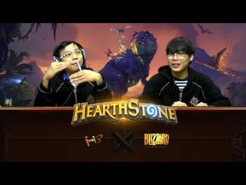 Hearthstone Global Games - Belgium VS Kazakhstan (พากย์ไทย)