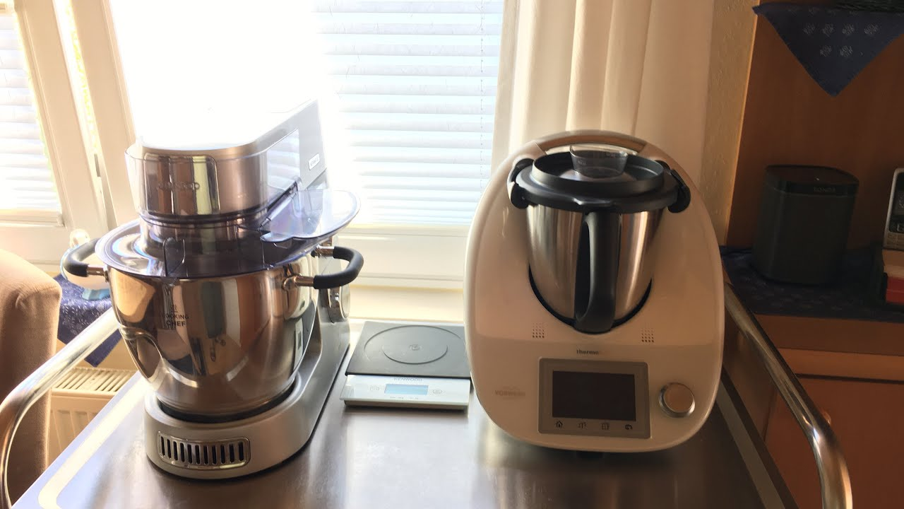 Mein Thermomix Kenwood Major Kenwood Cooking Chef Gourmet Youtube