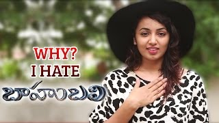 Why I Hate Baahubali (with Subtitles ) | Tejaswi Madivada Clarifies on Baahubali Controversy