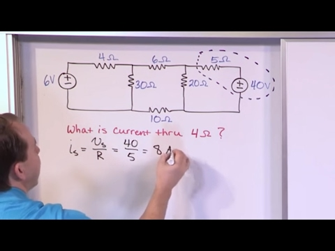 Lesson 2 - Source Transformations, Part 2 (Engineering Circuits)