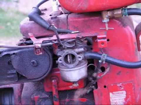 Troy Built Horse Rototiller Carburetor Repair Youtube