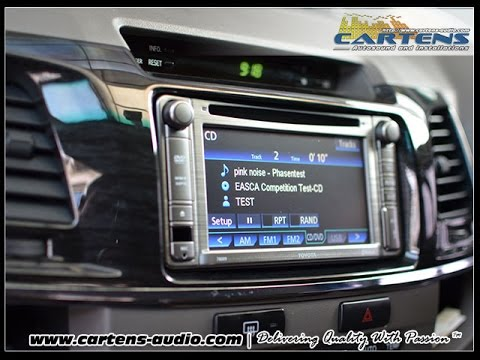 Comparison Audio Mobil Toyota Fortuner Standard Or