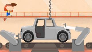 Çizgi film - Doktor Mac Wheelie - Araba fabrikası - Türkçe dublaj