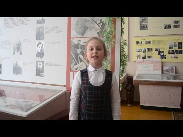 Изображение предпросмотра прочтения – ДарьяХодуненкова читает произведение «Нет войны» С.Я.Маршака