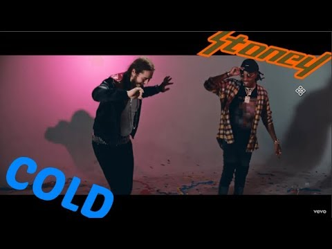 Post Malone :COLD [LYRIC VIDEO]