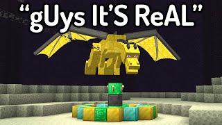 The FUNNIEST FAKE Minecraft Speedruns...