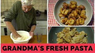 Greek Grandma Makes 2 Types Of Fresh Pasta | Aegean Sea Pasta   | 2 Pasta Recipes |  #DoStathi