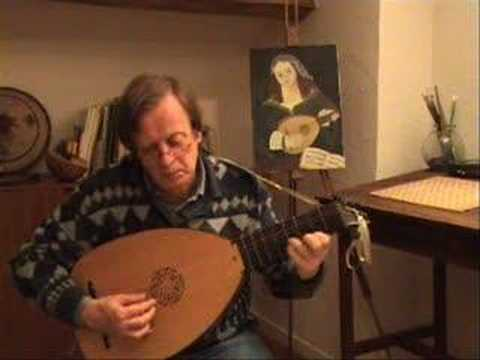 Greensleeves - Anonymous & Cutting - Lute - Luth