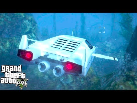 GTA 5 - THIS UNDERWATER CAR IS INSANE! (GTA 5 Online)
