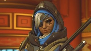 5 Minutes of Overwatch Ana Gameplay
