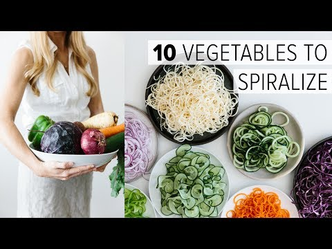 9 Low-Carb Spiralized Recipes to understand