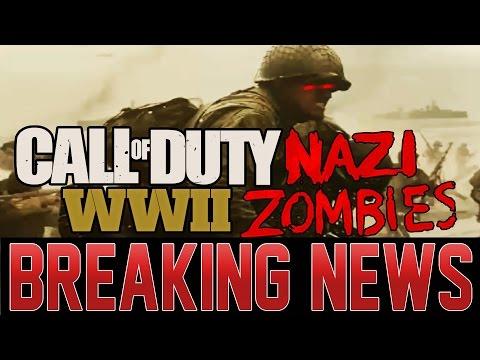 LEAKED COD WW2 = NAZI ZOMBIES RETURN!?  MOST CRAZY LEAK I'VE EVER COVERED IF TRUE!
