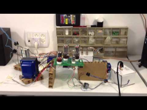 DIY tube amp Simple SE - YouTube