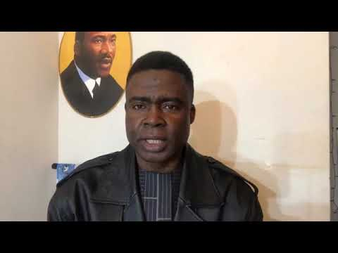 Dr Samuel Ikome Sako - Appeal to the Nigerian Government to