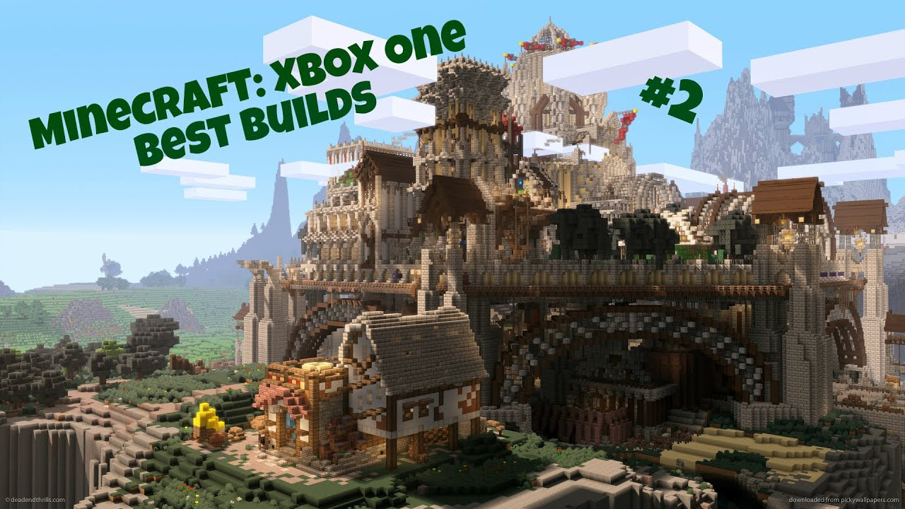 Minecraft Awesome Builds Xbox