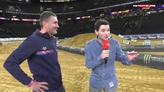 [SX de Paris] Découverte exclusive de la U-Arena avec Maxime Martin & JMB ! - AB Moteurs
