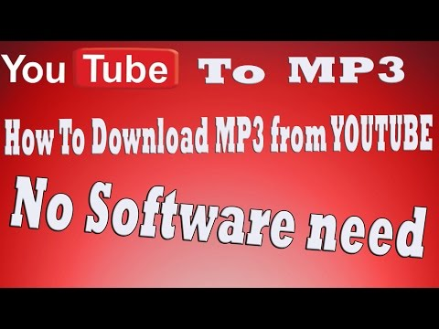 Tutorial: How To Download Youtube As Mp3 - Download Mp3 From Youtube - Download Youtube Audio [HD]
