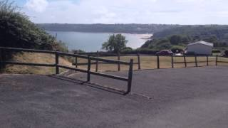 Meadow House Holiday Park - Sea View From Lower Fields