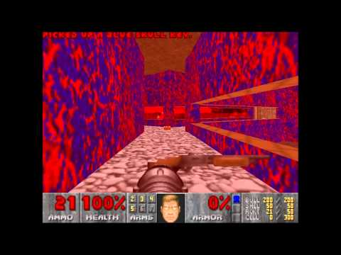 Ultimate Doom E3 M6 Mt. Erebus Nightmare Speedrun Travel Video