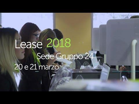 Lease 2018 - Recap della prima edizione
