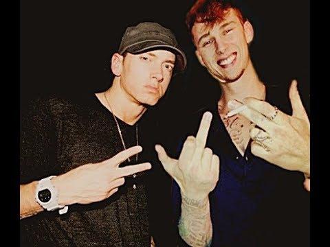 Machine Gun Kelly (MGK) vs Eminem | White on White Crime!!!!