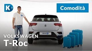 Volkswagen T-Roc   4 di 4: comodità   Un SUV compatto può essere spazioso? Video
