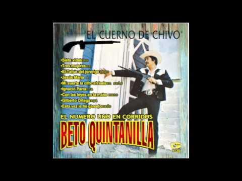 Beto Quintanilla El Cuerno De Chivo - Jesus Maria
