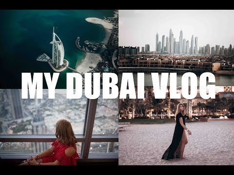 Dubai vlog - how to spend 4 days in Dubai - Atlantis the Palm - Burj Khalifa - Safari - Seawings