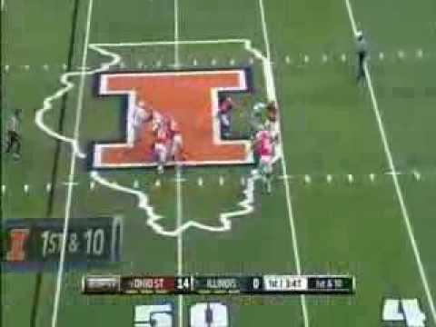 Bradley Roby (Ohio State) 63 Yard Int Return TD vs Illinois | 11-16-13 |
