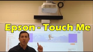Epson Brightlink Pro 1430wi Interactive Whiteboard Projector - Review & Demo