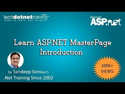 Beginners Tutorial for ASP.NET 4.5