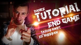 🔴  TUTORIAL End Game - @taylorswift13 ft. @edsheeran ‏ | Coreografía: @aaron_colston 🇪🇸