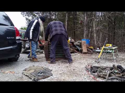 HARVESTING COPPER FROM TRACTOR RADIATORS  THE EASY WAY