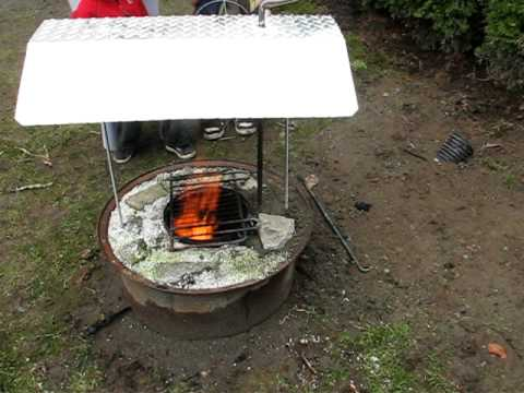 dakota fire pit rocket stove urban less smoke fire youtube